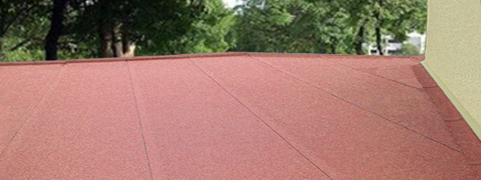 Garage Roof re-felted by Newbury Roofing in Hungerford.