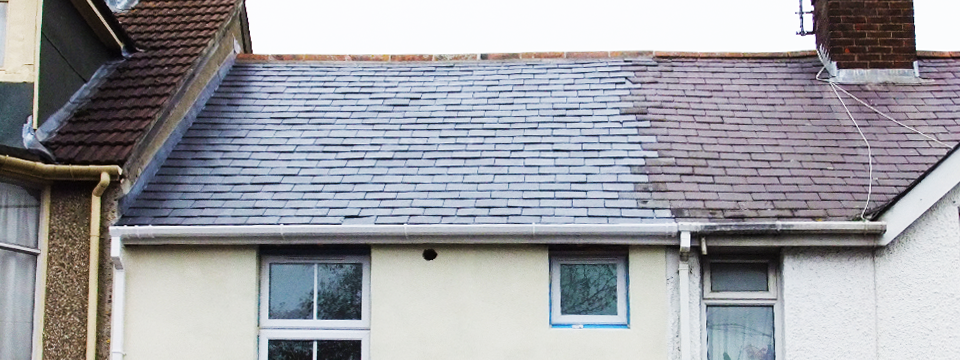 Replacement Slate Roof, Newbury.